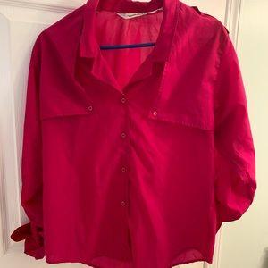 Vintage Diane Van Furstenberg button up blouse
